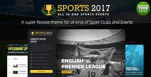 The Real – Sports Club HTML Template