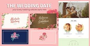 The Wedding Date – Responsive HTML Template