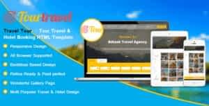 Travel Tour – Hotel and Booking HTML Template