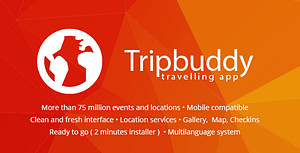 Tripbuddy – Travel, Locations and Events Web App