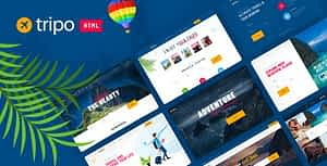 Tripo – HTML Template For Travel & Tourism Agencies