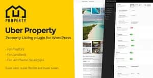 Uber Property – The property listing plugin for WordPress
