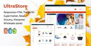 Ultrastore – Supermarket and Retail HTML Template