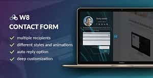 W8 Contact Form – WordPress Contact Form Plugin