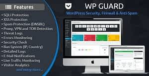 WP Guard – Security, Firewall & Anti-Spam plugin for WordPress
