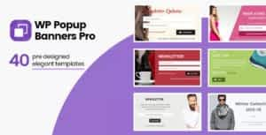 WP Popup Banners Pro – Ultimate popup plugin for WordPress