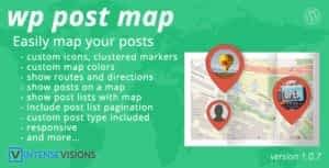 WP Post Map – Google Maps Plugin for WordPress