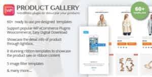 WP Product Gallery – Responsive Products Showcase Listing for WordPress