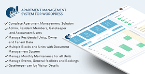 WPAMS – Apartment Management System for wordpress