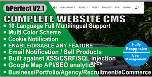 Website CMS – Multilingual Business Content Management System with Multipurpose Features