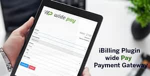 WidePay Payment Gateway for iBilling