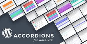 WordPress Content Accordions Plugin with Layout Builder