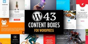 WordPress Content Boxes Plugin with Layout Builder