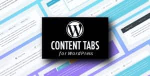 WordPress Content Tabs Plugin with Layout Builder