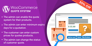 WordPress WooCommerce Quote System Plugin