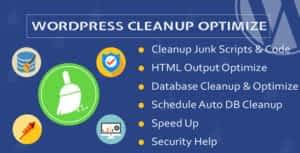 WordPress Cleanup & Optimize Plugin