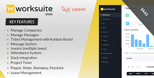 Worksuite Saas – Project Management System