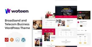Woteen – Broadband and Telecom Business WordPress Theme
