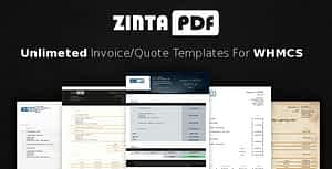 ZintaPDF – Invoice & Quote Templates for WHMCS