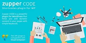 Zupper code plugin – shorcodes pack for your WordPress themes