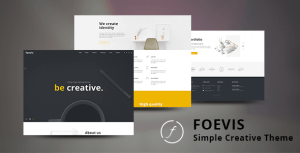 A WordPress Theme For Creative Agencies – Foevis