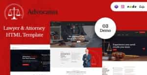 Advocatus – Lawyer & Attorney HTML Template