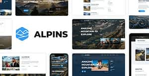 Alpins – Mountain And Hiking Template