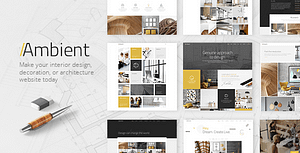 Ambient – Modern Interior Design and Decoration Theme