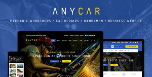 AnyCar – HTML Template for Automotive & Business