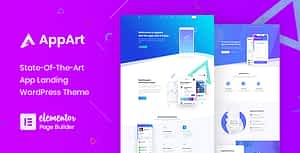 AppArt – Creative WordPress Theme For Apps, Saas & Software