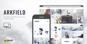 Arkfield – An Elegant Portfolio WordPress Theme