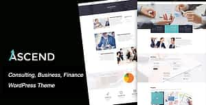 Ascend – Consulting & Finance WordPress Theme