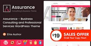 Assurance – Business Consulting and Professional Services WordPress Theme