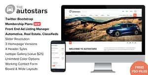Auto Stars – Car Dealership and Listings WP Theme