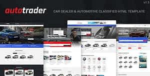 AutoTrader – Car Dealer and Automotive Classified HTML Template