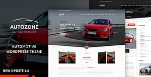 Autozone – Auto Dealer & Car Rental Theme