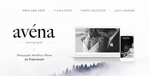 Avena – Photography WordPress for Professionals
