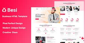 Besi – Business and Agency HTML Template