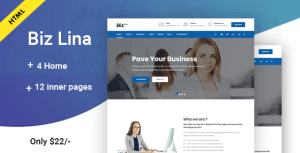 Biz Lina – Multi-Purpose Business Template