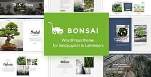 Bonsai – WP Theme for Landscapers & Gardeners