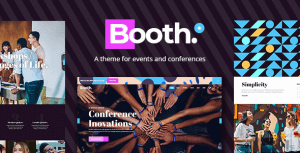Booth – Event and Conference Theme