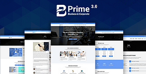 Bprime – Business and Corporate HTML Template