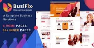 Busifix – Business Consulting and Professional Services HTML Template