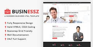 Businessz – Business, Corporate, Agencies HTML Template
