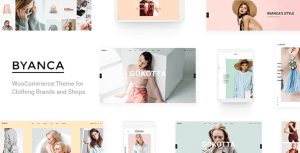 Byanca – Modern WooCommerce Theme for Clothing Brands and Shops