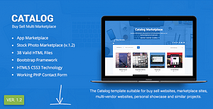 Catalog | Buy Sell / Marketplace Responsive Site Template