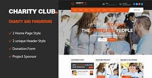 Charity Club || Responsive HTML Template for Fund Raising