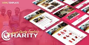 Charity HTML – Responsive Website Template