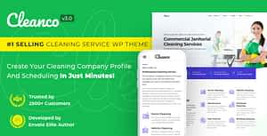 Cleanco 3.0 – Cleaning Service Company WordPress Theme