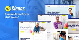 Cleanz | Cleaning Service HTML Template